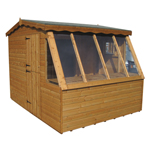 Crookham Sawmills Garden Buildings Combi Potted Shed