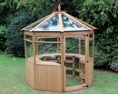 Wooden sheds newbury download shed plans more for Octagonal greenhouse plans